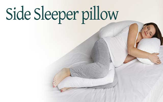Fossflakes Sidesleeper Pillow Best Pillow For Side Sleepers